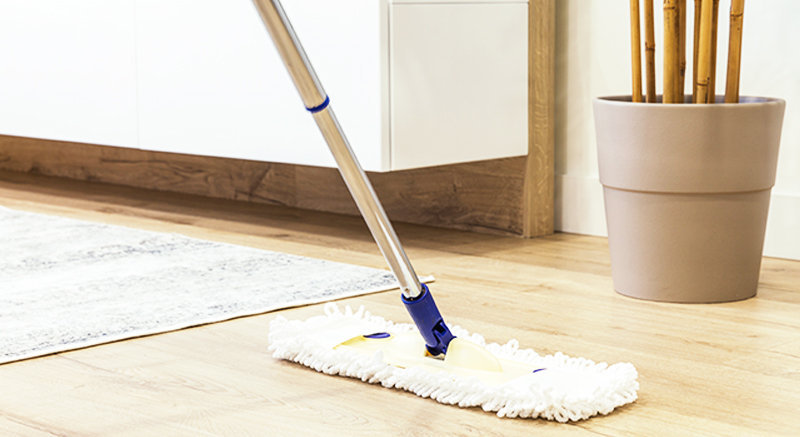 Office Cleaning Floor striping and waxing